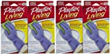 Health & Personal Care : Playtex Gloves Playtex Living Size Medium (4-Pairs)