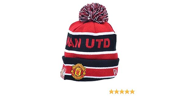 Manchester United New Era Bobble Kids Winter Beanie
