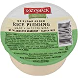Kozy Shack Rice Pudding No Sugar Added, 4 Ounce -- 48 per case.