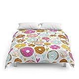 Society6 Donut Love Comforters Queen: 88'' x 88''