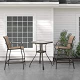 Crestlive Products Patio Bar Table Outdoor High