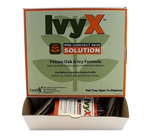 Towelettes, Pre-Contact Solution, Wallmount Dispenser -50 counts by IvyX