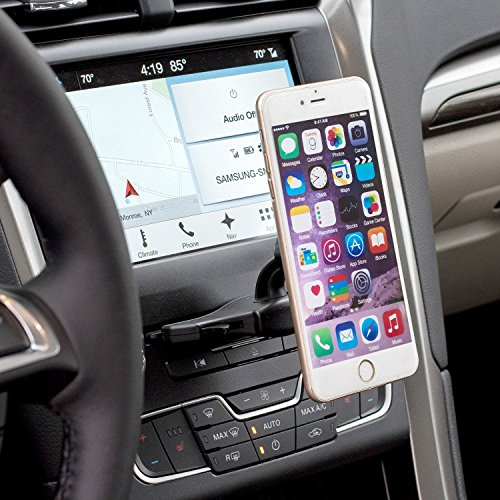 WizGear Cd Mount, CD Slot Magnetic Car Mount Holder Cell Phones Mini Tablets Fast Swift-Snap Technology, [Fits Most Car Cd Slots] by WizGear (Image #7)
