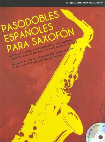 Pasodobles Espanoles Para Saxofon