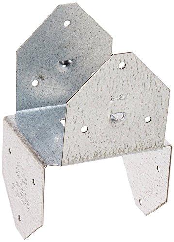 (Simpson Strong Tie BCS2-2/4-20 18-Gauge Double 2x4 Post Cap/Base (20-Per Box))
