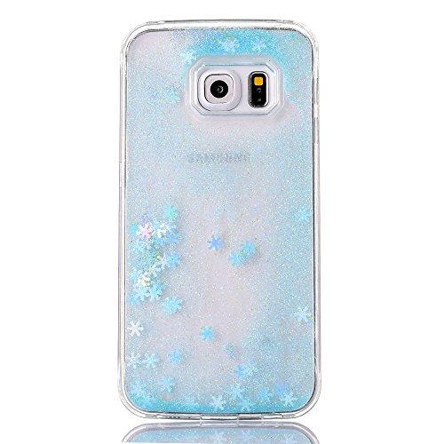 360 Degree Hard Plastic Case for Samsung Galaxy S6 Edge (Gold) - 5
