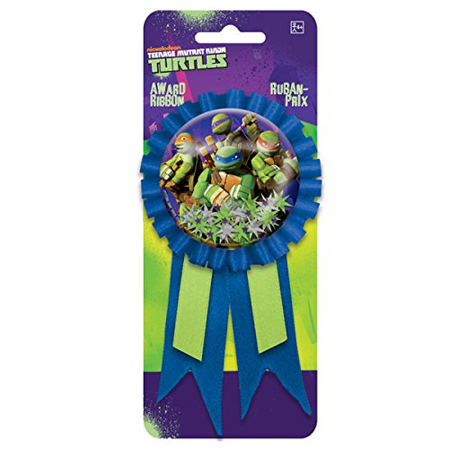 Amscan TMNT Confetti Pouch Award Ribbon, Party Favor, 6 Ct.]()