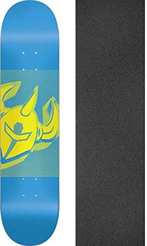 願望アグネスグレイ整理するDarkstarスケートボード紗幕ブルースケートボードデッキ – 8