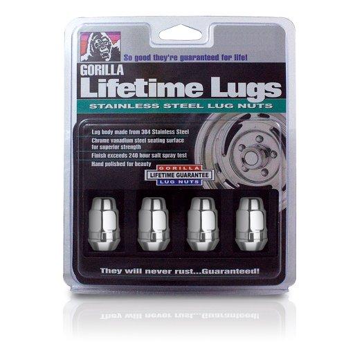 Gorilla Automotive 91187SS Stainless Steel Lifetime Lug Nuts (1/2
