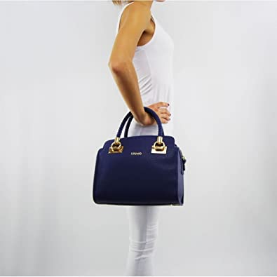 1e26eed10f4ff BORSA DONNA LIU JO BAULETTO ANNA M BLU ROYAL 217  Amazon.co.uk  Shoes   Bags