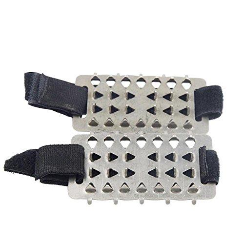 Gracefulvara Winter Anti slip Ice Cleats Shoe Boot Grips Crampon Chain