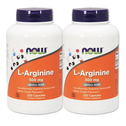 2個セット 海外直送品 NOW FoodsLアルギニン 500mg(海外直送品) L-Arginine 500mgの商品画像