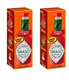 Tabasco Original Flavor Pepper Sauce 12 Fl oz ( 2 pack )