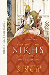 A History of the Sikhs (1839-2004) - Vol. 2: Volume 2: 1839 - 2004 Paperback