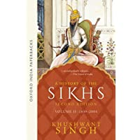 A History of the Sikhs, Volume 2: 1839-2004