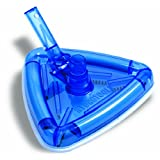 Solstice by International Leisure Products Hydro Tools 8145B Clear Super Aero-Vac Weighted Pool Vacuum Head