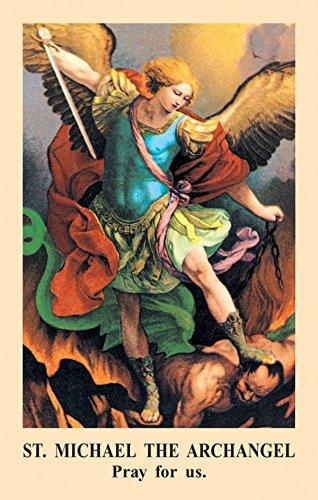 Saint Michael Prayer Card (Pack of ()