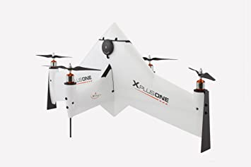 Xcraft AT2-XP1-002-CB-B1 X Plus One Drone Hybrid Fixed Wing-Quad Copter  with GoPro Gimbal, Platinum