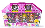 Pinypon Pin Y Pon Value Case with 4 Doll Figures & 2 Pets