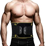 Exercise Waist Trainer Belt for weight loss waist wrap for men Back Brace for lower back pain Waist support belt for women Gym Belt Lumbar suppport back protector Waist Trimmer ab belt for men DD1-B85