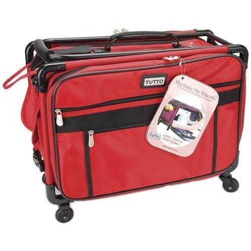 (Mascot Metropolitan Tutto Machine Case On Wheels Medium 20in Cherry Red, Medium/20,)