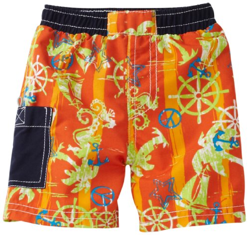 Floatimini Baby Boys' Sea Horses And Sails Suit