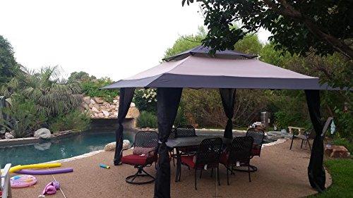 Outdoor Backyard Gazebo 13u0027 x 13u0027 Canopy Tent Pergola Patio Furniture by BCS & Outdoor Backyard Gazebo 13u0027 x 13u0027 Canopy Tent Pergola Patio Furniture