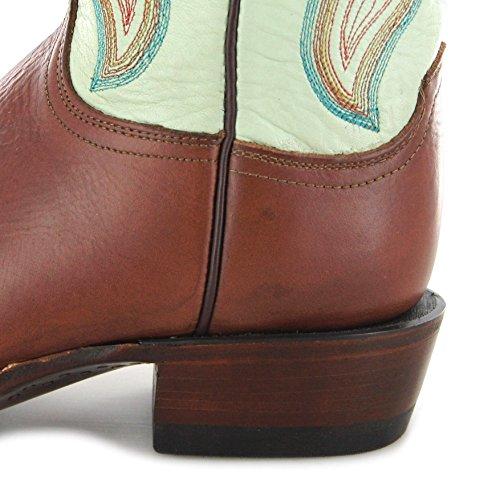 Tan Green Cl8006 Multicolore Lucchese nbsp;femme Western Bottes D'équitation Y8wAnFqx