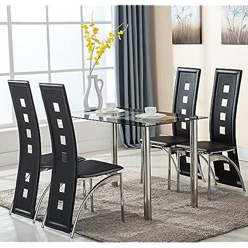 5 Piece Dining Room Set: 5 Piece Dining Room Sets: Amazon.com