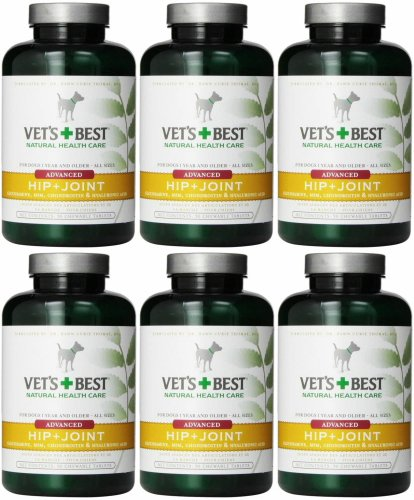 Vet's Best Level 3 Advanced Hip + Joint Chewable Tabs 540ct (6 x 90ct)