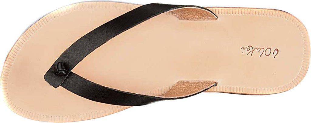 OLUKAI Women's Loea Thong Sandal B010E9POKC 7 B(M) US|Black/Black