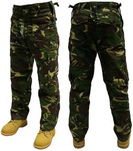 L30/&32 16 Urban Couture Clothing Adults Army Combats Cargo Trousers Sizes W30-50