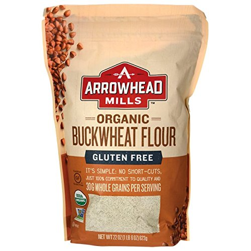 Arrowhead Mills Flour Buckwheat Organic, 22 oz Organic Buckwheat Flour