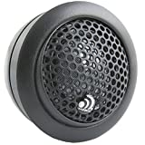 Massive Audio CT 1 - Silk Dome Car Audio Tweeter Set with Crossovers