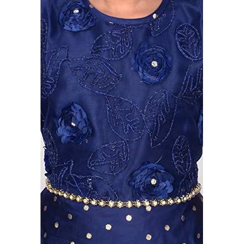 51JgEDBTAmL. SS500  - 4 YOU Fancy Girl Long Frock (Blue)