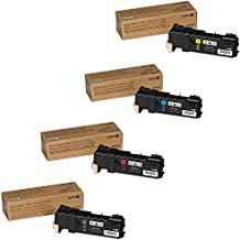 Xerox High Yield Black and Standard Yield Color Toner Cartridge Set for Phaser 6500. WorkCentre 6505