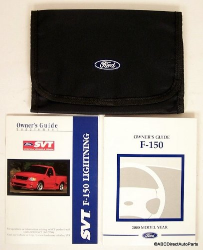 2000 Ford SVT F150 Lightning Owners Manual Guide Portfolio