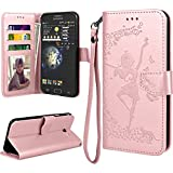 Galaxy J7 Sky Pro / J7 Prime / J7 Perx / J7 V /J7 2017 Case for Girls, Galaxy Halo / J7 2017 Flip Cover, Tekcoo Luxury PU Leather [Rose Gold] Wallet ID Cash Credit Card Slots Protective Cases & Stand Review
