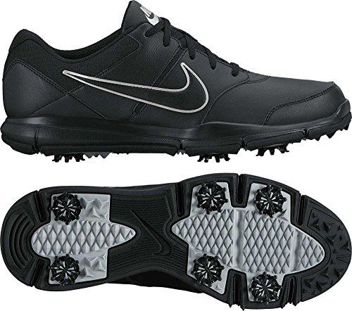 Nike Men's Durasport 4 Shoe, Black/Metallic Silver-Black, 10 M US