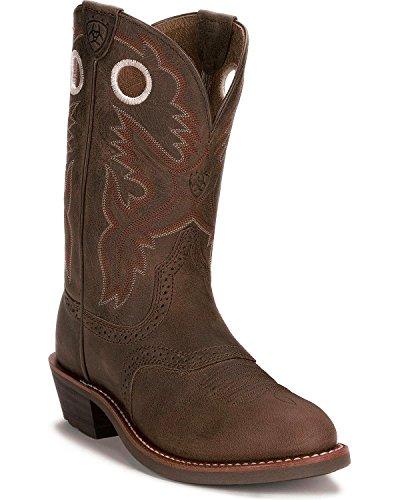 ARIAT Ladies Heritage Antique Brown Boots 7.5W