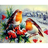 New!!5D Embroidery Paintings Rhinestone Pasted DIY Diamond Painting Cross Stitch (D)
