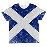 Best Old Glory Grunge Apparel Items - Old Glory Scottish Flag Distressed Grunge Scotland All Review