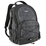 Baby Diaper Backpack, Evecase Lightweight Waterproof Baby Diaper Backpack Travel Bag with Changing Pad - Black