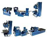 Sunwin Mini Metal 6 in 1 Lathe Machine DIY Mini Lathe Machine Tool Drilling Sanding Kit