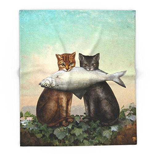 Society6 Enjoy Your Dinner 88'' x 104'' Blanket by Society6