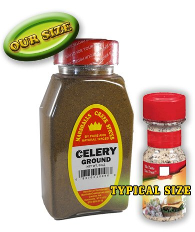 Marshalls Creek Spices New Size Marshalls Creek Spices Celery Ground Seasoning, 8 Ounce, 8 Ounce