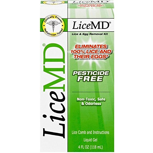 LiceMD Head Lice Treatment Kit, 4 oz (Lice Treatment Kit)