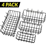 ToolAssort Pegboard Basket Set of 4, Hooks Easily