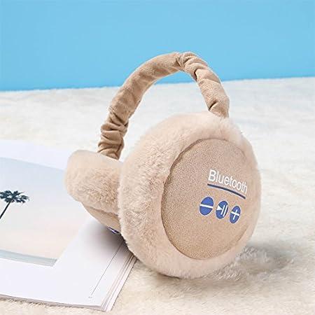 YXLMZ* Uomini Donne Pieghevole Classic Fleece Earmuffs Earlap Solido Colore Morbido Peluche Esterno di Inverno Snowboard Protector Scaldaorecchie Ear Regalo di Coppia Regalo di Natale