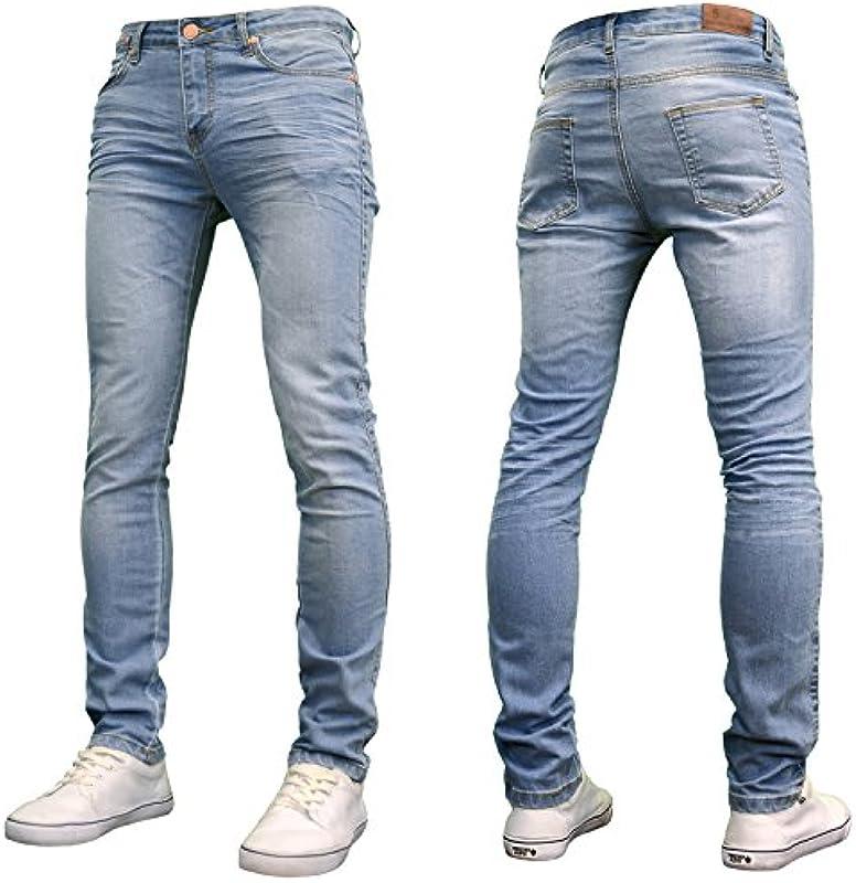 526Jeanswear dżinsy męskie Kato Stretch Super Skinny Fit: Odzież